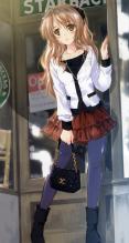 ゴールデンタイム【加賀香子】iPhone5(640×1136) #4237
