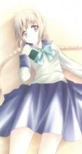 文学少女【天野遠子】iPhone5(744×1392) #32784