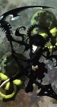 ブラック☆ロックシューター【デッドマスター】iPhone5(744×1392) #38124