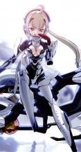 武装神姫【イーダ】iPhone5(744×1392) #46540