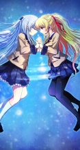 Angel Beats!【天使,遊佐】iPhone6 PLUS(1080 x 1920) #57453