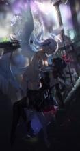 超次元ゲイム ネプテューヌ【ノワール,ブラックハート】swd3e2,iPhone7 PLUS(1080 x 1920) #114307
