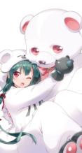 くまクマ熊ベアー【くまきゅう,ユナ(くまクマ熊ベアー)】iPhone8 PLUS(1080×1920) #165903